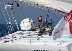 Steve White Vendee Globe Finish