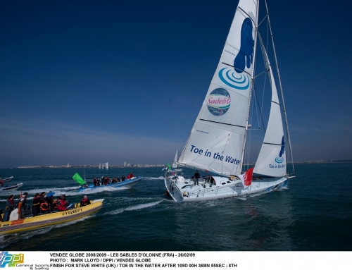 Steve White Open 60 Vendée Globe Finish