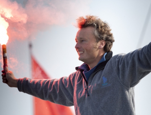 BRITISH SAILOR STEVE WHITE COMPLETES EPIC ROUND WORLD ADVENTURE