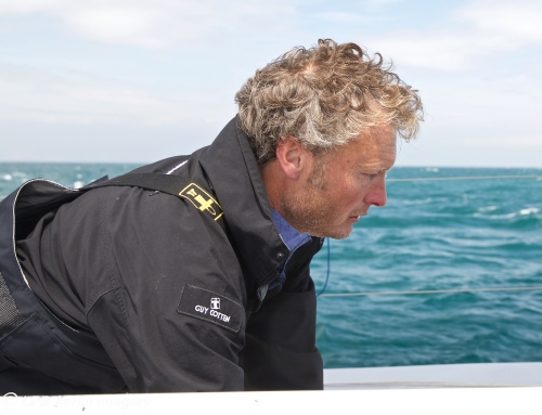 Solo yachtsman Steve White